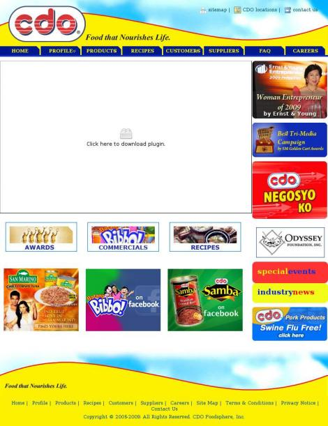 cdo foodsphere company profile