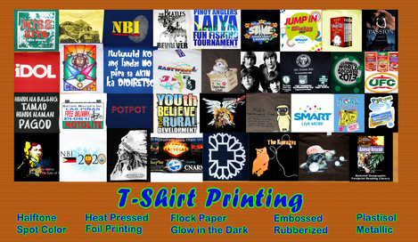 T shirt printing philippines quezon city metro manila for T shirt printing price list