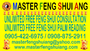 MASTER FENG SHUI ANG UNLIMITED FREE FENG SHUI CONSULTATION