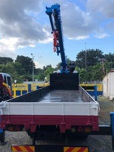 Euro 4 Daewoo 15 tons Boom Truck/ Truck Mounted Crane For Sale!!