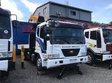 Euro 4 7 tons Boom Truck with Man Lift For Sale