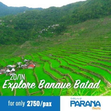 Banaue Batad 2 Days 1 Night
