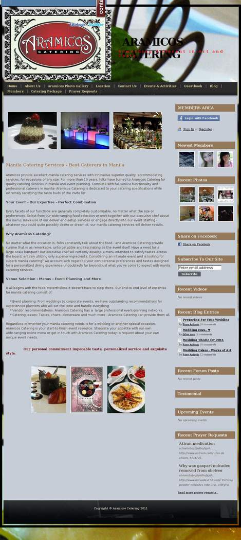ARAMICOS CATERING SERVICES