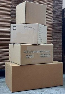 Quality made to order Corrugated boxes