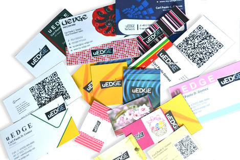 Corporate Business Cards with Lamination
