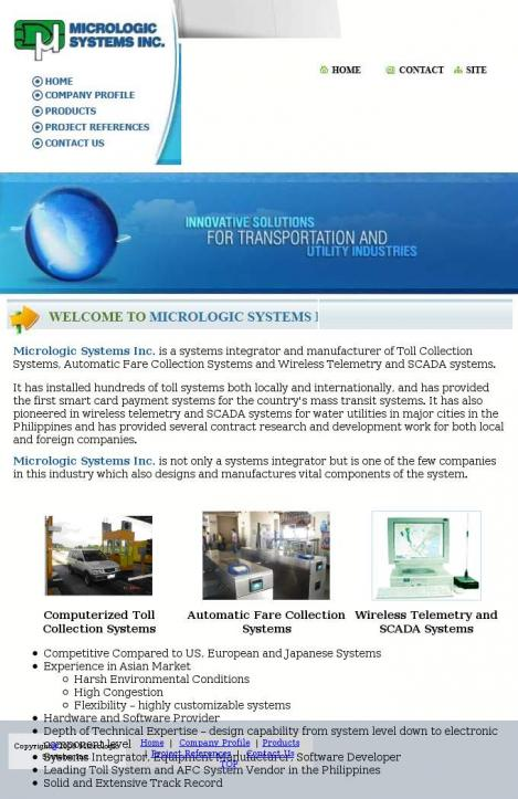 MICROLOGIC SYSTEMS