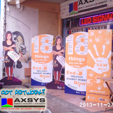 Life size Standee, Parking signs standee,