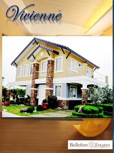 VIVIENNE HOUSE AND LOT AT BELLEFORT ESTATES CAVITE
