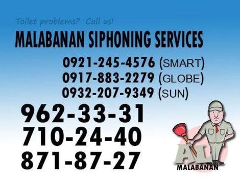 DNR Accredited malabanan siphoning servicess 8718727