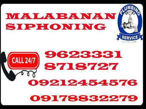 Bulacan malabanan siphoning services 710-2667