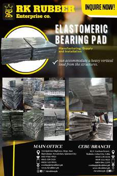 AFFORDABLE ELASTOMERIC BEARING PAD IN THE COUNTRY