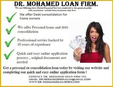 Dr. Mohamed Loan Firm is here to set you free from Debt