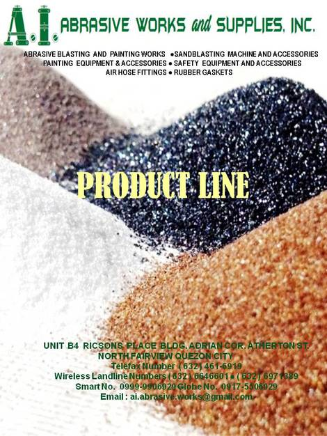 A.I. ABRASIVE WORKS AND SUPPLIES, INC.