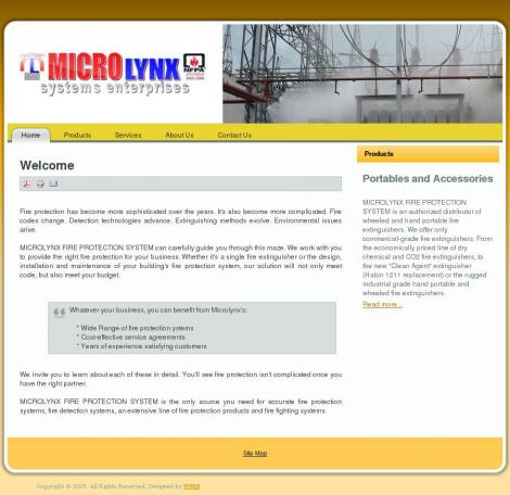 Microlynx Fire Protection System • microlynxfire com