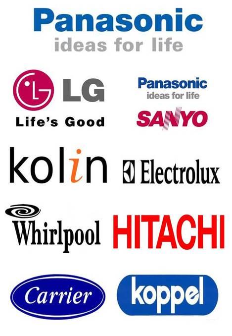 Panasonic, LG, Carrier, Hitachi, Kolin