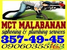 MCT Malabanan Siphoning And Plumbing services