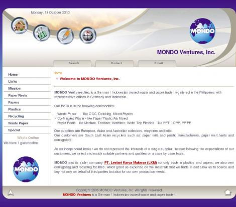 Mondo Ventures, Inc.