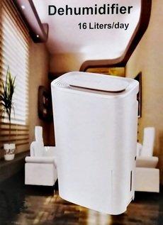 16 Liters per day dehumidifier