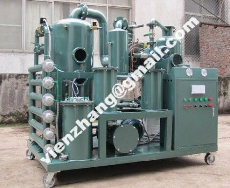 Series ZYD-I Double-Stage Vacuum Regeneration Insulating Oil Purifier