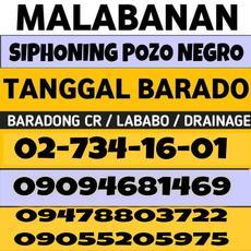 Bulacan Malabanan Siphoning pozo negro services