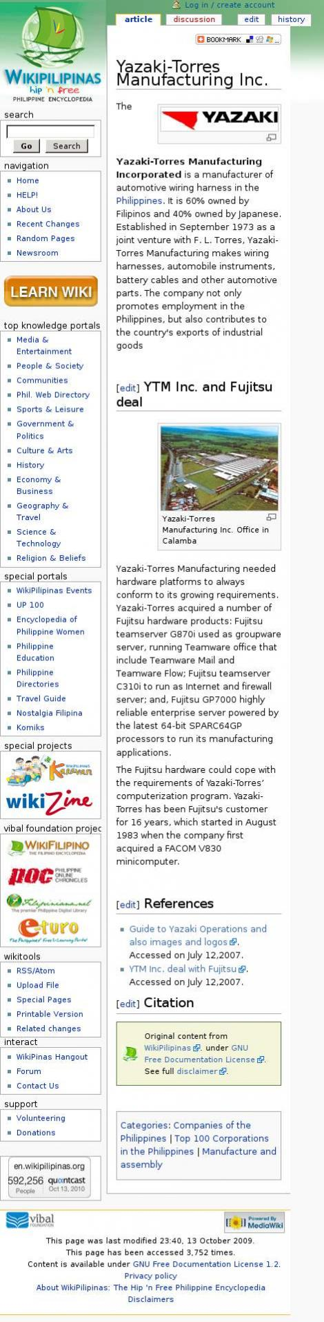 Yazaki Torres Manufacturing Metro Manila Automotive Wiring Harness Wikipedia