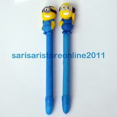 Cute Minions Polymer Pen for Christening and Birthday Souvenir