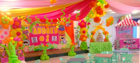 Balloons And Party Set Up