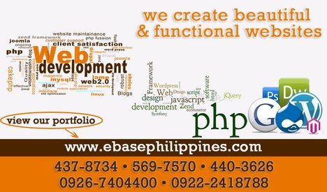 Web Development - Ebase Philippines
