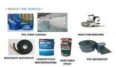 PVC strip curtain Inject-able Epoxy waterproofing