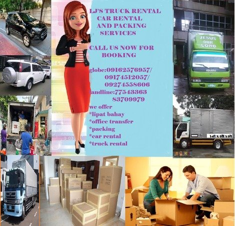 LJ'S TRUCK RENTAL/CAR RENTAL AND PACKING SERVICES