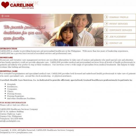 CARELINK HEALTH CARE SERVICES CO.