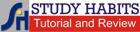 STUDY HABITS Tutorial and Review Center