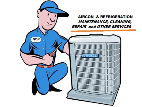 Aircon & Refrigeration Maintenance and Servicess (HVAC)