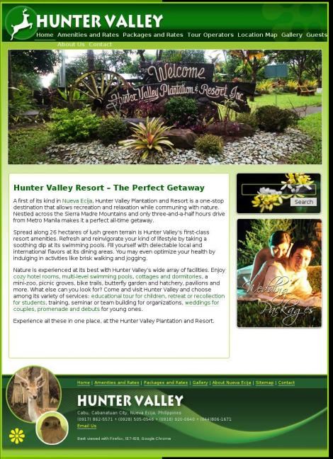 Hunter Valley Resort • Cabanatuan City • Nueva Ecija