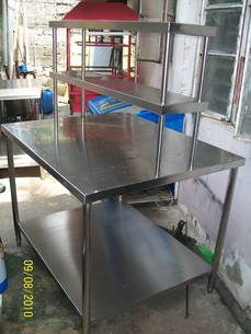 """Chef""""s Preparation Table"""