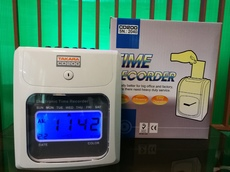 Digital Time Attendance Bundy Clock Time Recorder Biometric