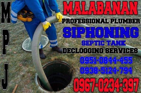 malabanan siphoning plumbing services