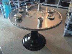 korean restaurant table