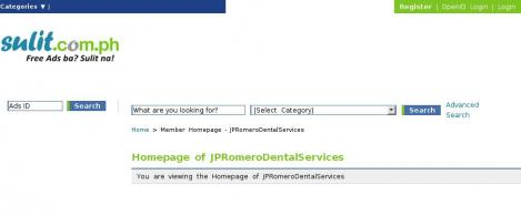 JP Romero Dental Services Clinic Care Implants Veneers Orthodontics Bleaching Cleaning