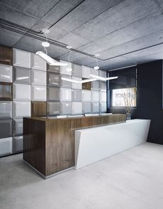 Reception Counter Table--Office Furniture Philippines