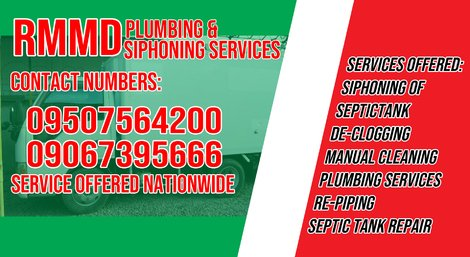 RMM Malabanan Siphoning & Declogging Service - daraga , daraga