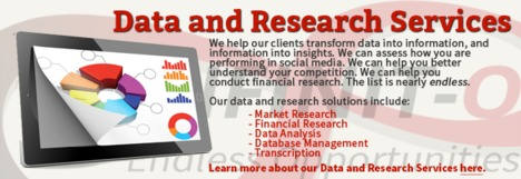 Research Outsourcing