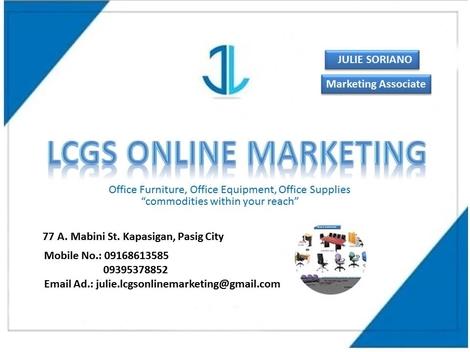 LCGS Online Marketing - Pasig