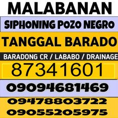 Malabanan Siphoning Pozo negro and plumbing services