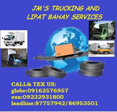 JM'S LIPAT BAHAY AND TRUCKING SERVICES