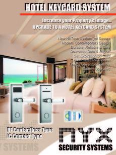 Hotel Electronic Keycard Lockset System