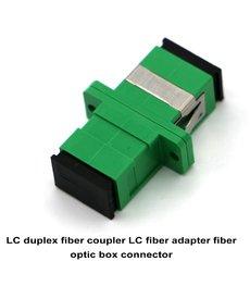 LC Duplex Fiber Coupler LC Fiber Adapter Fiber Optic Box Connector