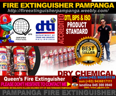 pampanga fire extinguisher