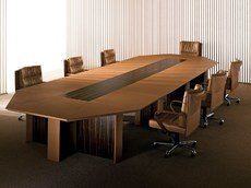 Turn meeting room by using elegant piece of the conference table.