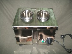 Silver Caddy - Spoon and Fork Sterilizer
